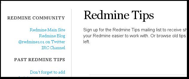 RedmineTips.com